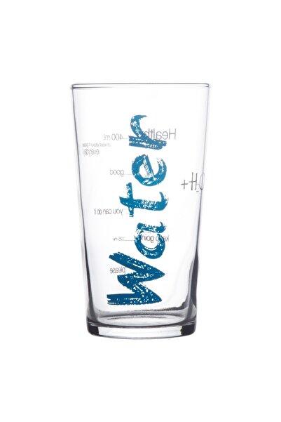 LUXURY Water Bardak -mavi- 570 ml Ölçülü