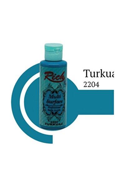 Rich Multi Surface 2204 Turkuaz Akrilik Boya 120 Cc