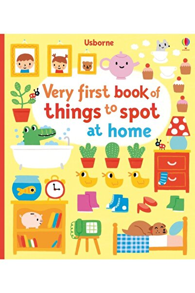 Usborne Very First Book Of Things To Spot: At Home