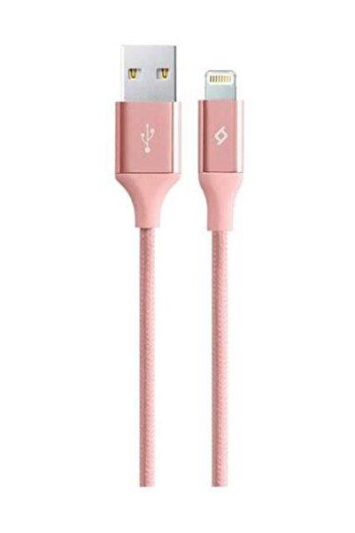 Ttec Alumicable Iphone Uyumlu Lightning Şarj ve Data Kablosu 2dk16 Rosegold