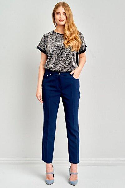 Ekol Kadın Lacivert Pantolon