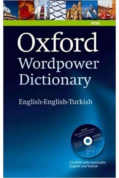 OXFORD UNIVERSITY PRESS Oxford Wordpower Dictionary English English Turkish
