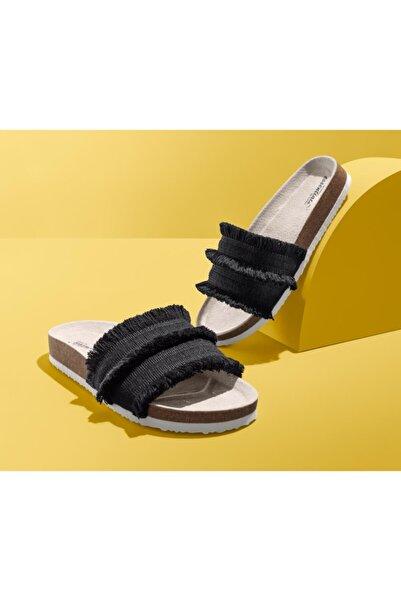 Tchibo Kadın Siyah Konforlu Sandalet