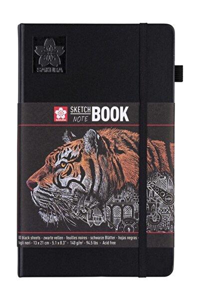 Sakura Sketch Book Siyah Kağıt 140g 80 Yaprak 13x21cm