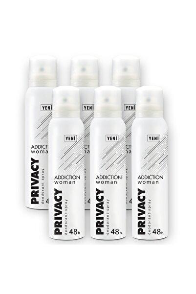 Privacy Woman Addiction Kadın Deodorant 6x150ml