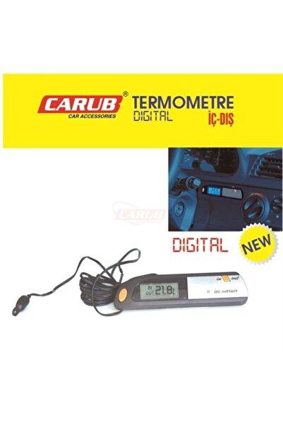 Kargolat Carub Dijital Araba Iç Dış Ölçüm Aleti Termometre
