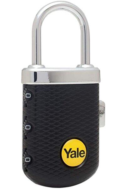Yale Zarif Tip Şifreli Asma Kilit Siyah