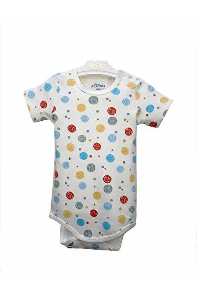Aziz Bebe Unisex Çıtçıtlı Body