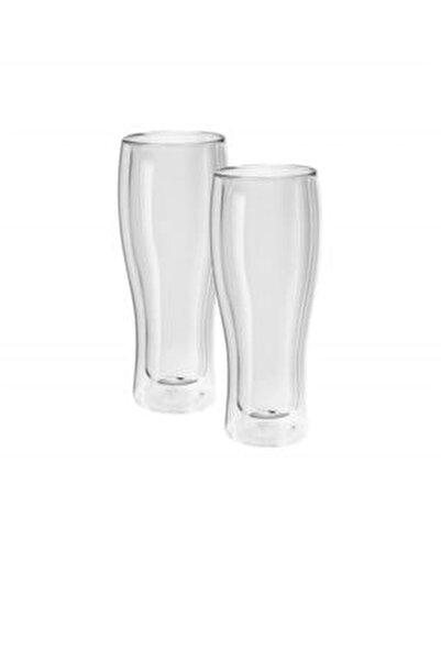Çift Camlı Cidarlı 2'li Meşrubat Bardağı Seti 214