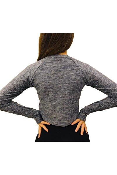 Duffel Kadın Spor Tshirt Kısa Bel Fitness