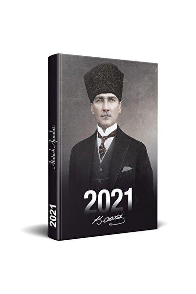 Halk Kitabevi 2021 Atatürk Ajandası Kalpaklı