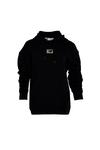 New Balance Kadın Siyah Spor Sweatshirt Wth3813