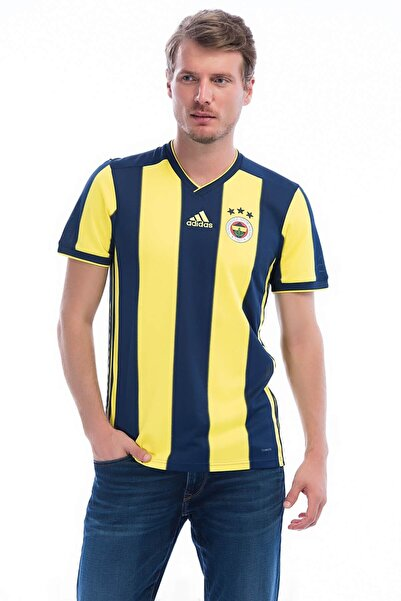 Fenerium Fenerbahçe Adidas 18-19 Sarı Lacivert Ev Sahibi Forma At013e8s03
