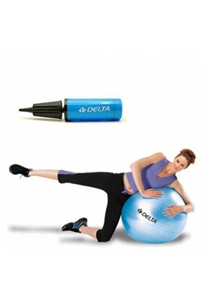 Delta Pilates Topu 55 cm ve 25 cm Pilates Şişirme Pompası