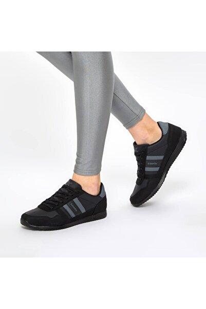 Kinetix Carter Pu M 9pr Siyah Unisex Sneaker Ayakkabı