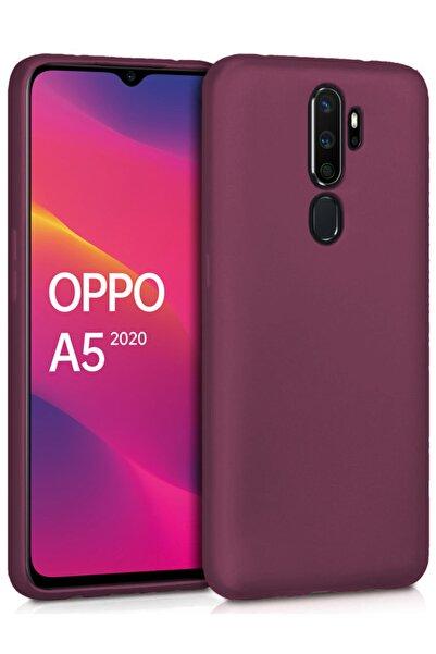 Oppo A5 2020 Kılıf Ultra Ince Renkli Silikon Kapak