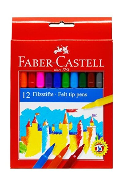Faber Castell Unicolor Keçeli 12'li