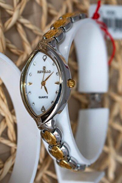 Revello Klasik Kadın Gümüş Kol Saati