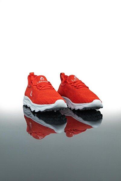 LETOON Unisex Kırmızı Spor Ayakkabı Teek01