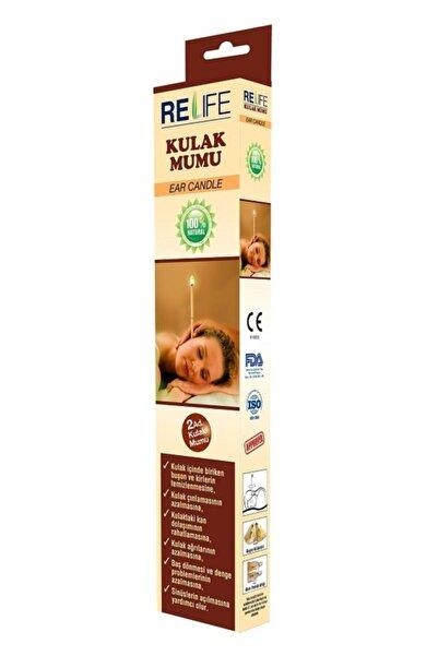 Relife Kulak Temizleme Mumu Çubuğu 1 Kutu (2 Çubuk)