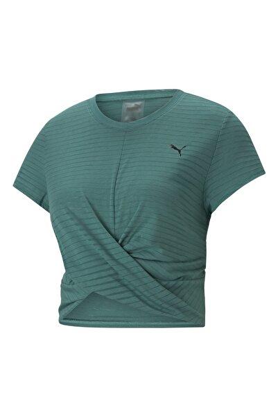 Puma Kadın Spor T-Shirt - STUDIO TWIST BURNOUT - 52022845