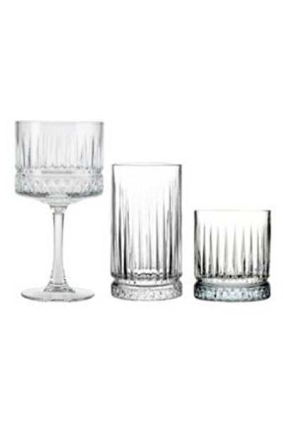 Paşabahçe Elysıa 18 Parça Meşrubat Kadeh Bardağı Set Vf9600