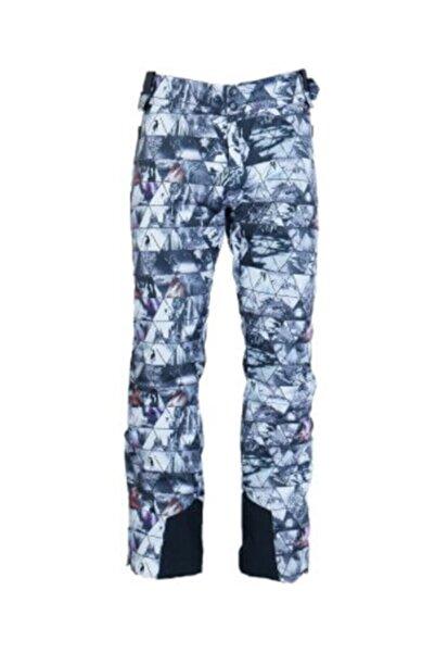 Exuma Erkek Beyaz Desenli Kayak Pantolonu