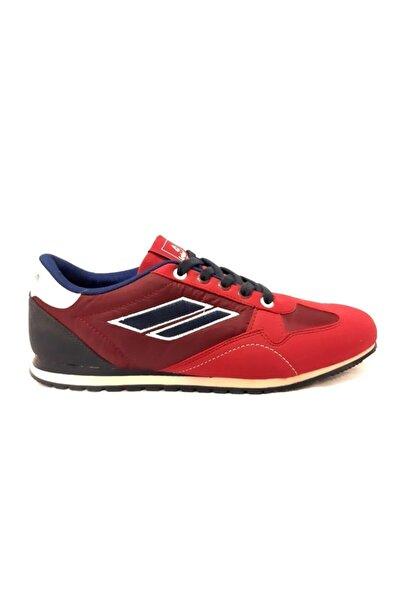LETOON Bordo Comfort Erkek Spor Ayakkabı