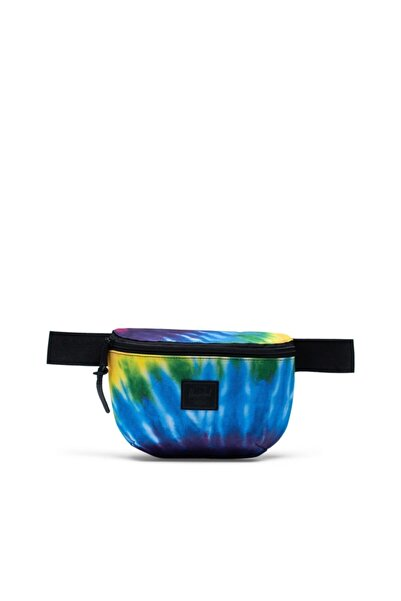 Herschel Supply Co. Unisex Mavi  Fourteen Rainbow Tie Dye Bel Çantası