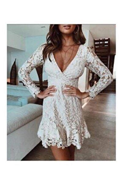 Morisa Mini Güpür Elbise