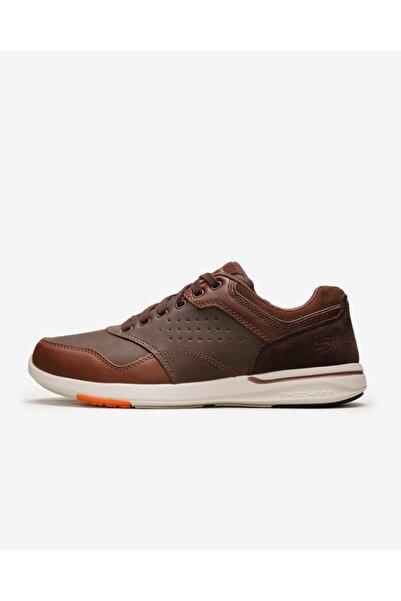 SKECHERS Elent- Velago 65406 Brn Erkek Kahverengi Günlük Ayakkabı
