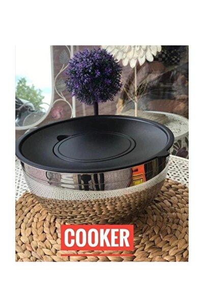 Cooker Lara 24 Cm Kapaklı Çelik Mayonez Kasesi
