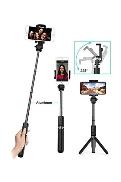 ADDISON Atr-400 186mm Bluetooth Selfie Çubuğu + Tripod