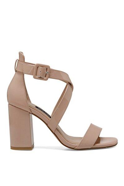 Nine West Kadın Naturel Laura Topuklu Ayakkabı