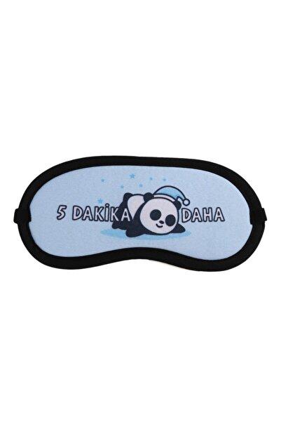 Çetin Panda Tasarımlı Uyku Bandı -göz Bandı