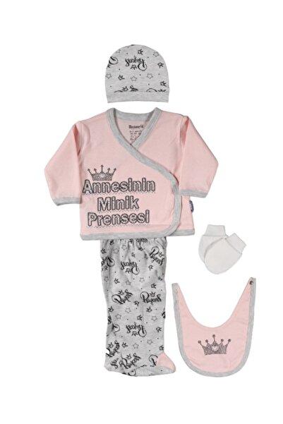 Miniworld Kız Annesinin Minik Prensesi 5 Parça Zıbın 15142