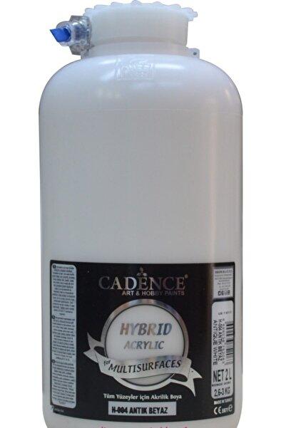 Cadence Antik Beyaz Hybrid Multisurface Akrilik Boya 2 L H-004