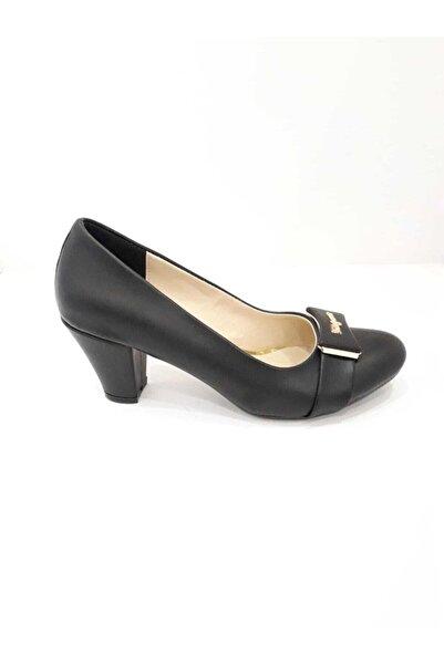 Essence Kadın  Siyah Ayakkabı