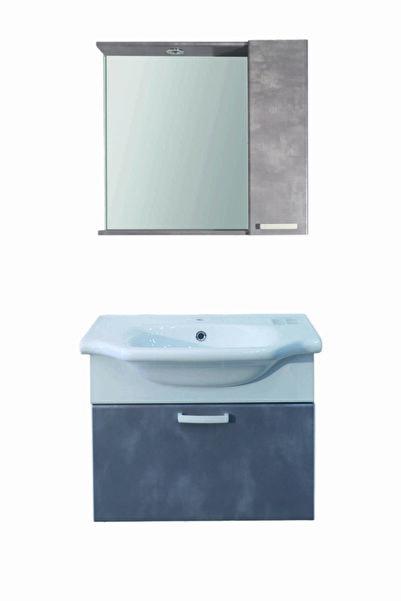 ALMİS Plastik 65 Cm Dolap Takım Banyo Dolabı