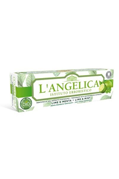 Langelica Misket Limonu/nane Aromalı Diş Macunu 75 Ml