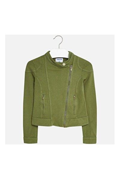 MAYORAL Kız Çocuk Sırtı Nakışlı Penye Ceket