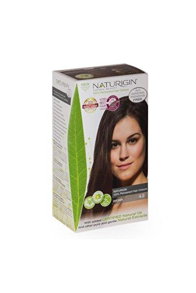 Naturigin Kahverengi Organik İçerikli Saç Boyası 4.0