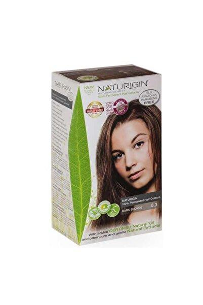 Naturigin Organik Içerikli Saç Boyası-5.3 Koyu Kumral