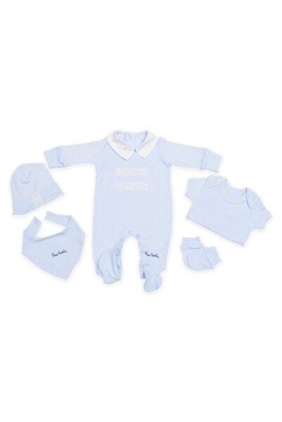 Pierre Cardin Baby Nakışlı Hastane Çıkışı 5 Li Set