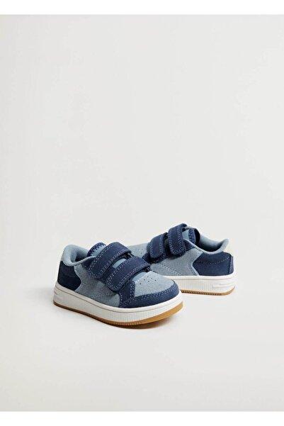MANGO Baby Cırt Cırtlı Deri Spor Ayakkabı
