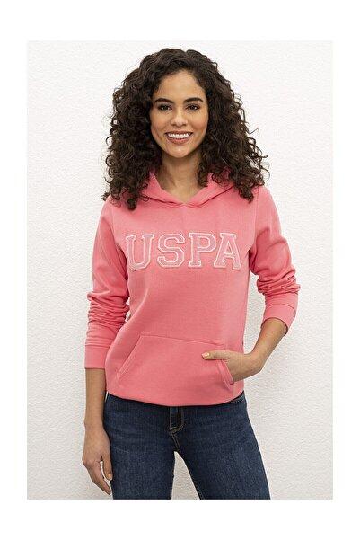 U.S. Polo Assn. Pembe Kadın Sweatshirt