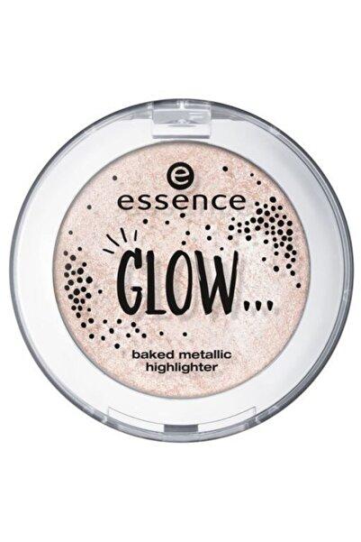 Essence Glow... Baked Metallic Highlighter 02 5g (aydınlatıcı Terracota Pudra )