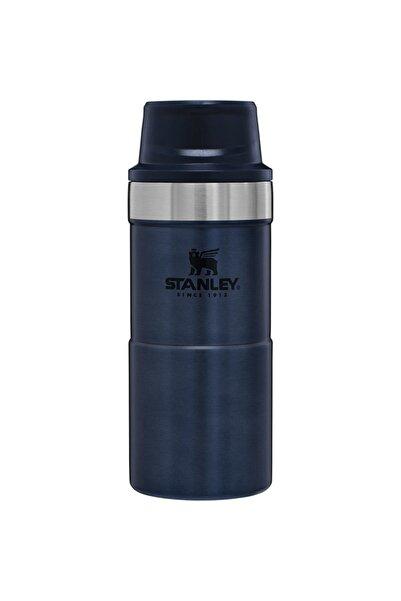 Stanley Klasik Trigger-action Lacivert Siyah Kapaklı Seyahat Bardağı 0,35 Lt Lacivert