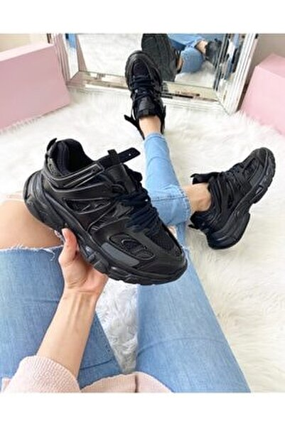 Unısex Sıyah Sneaker
