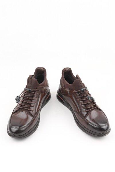 Buffalo Erkek Kahverengi Anatomik  El Yapımı Sneakers
